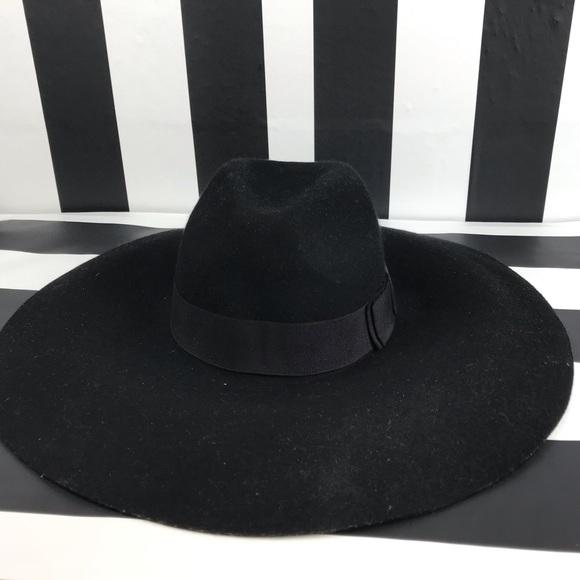 San Diego Hat Company Black Wide Brim Floppy Hat 68b31b90e9b1